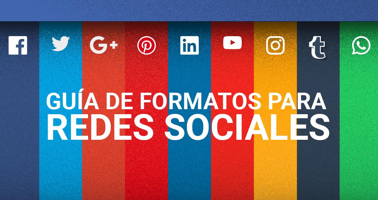 Infográfico: Guía de tamaño para redes sociales